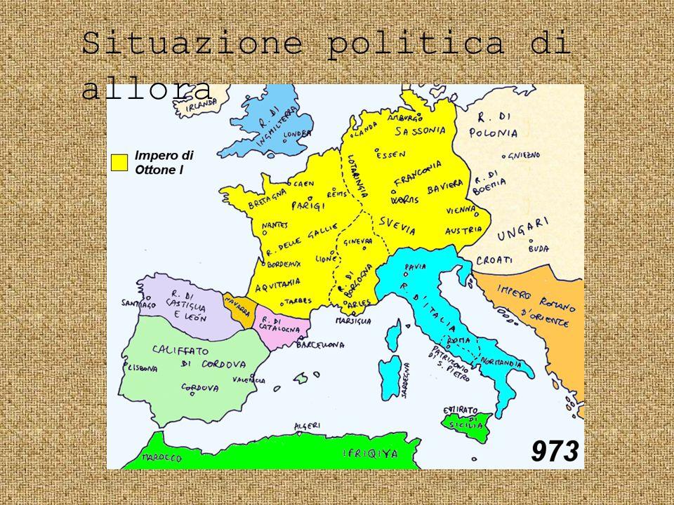 Situazione politica di allora