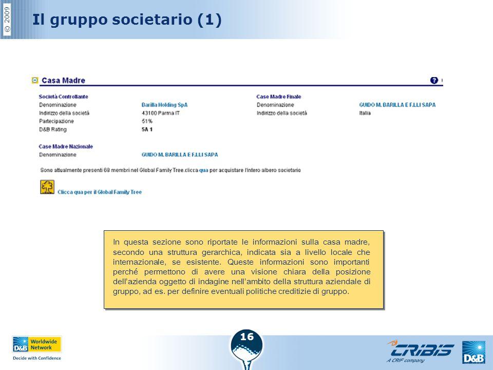 Il gruppo societario (1)