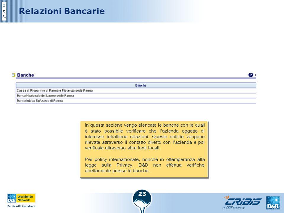 Relazioni Bancarie