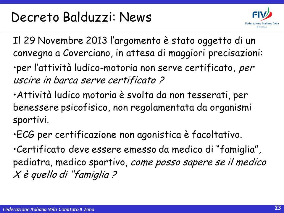 Decreto Balduzzi: News