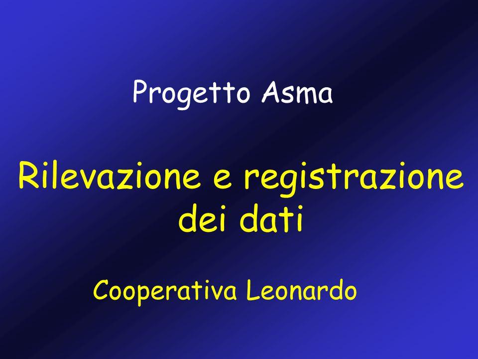Rilevazione e registrazione