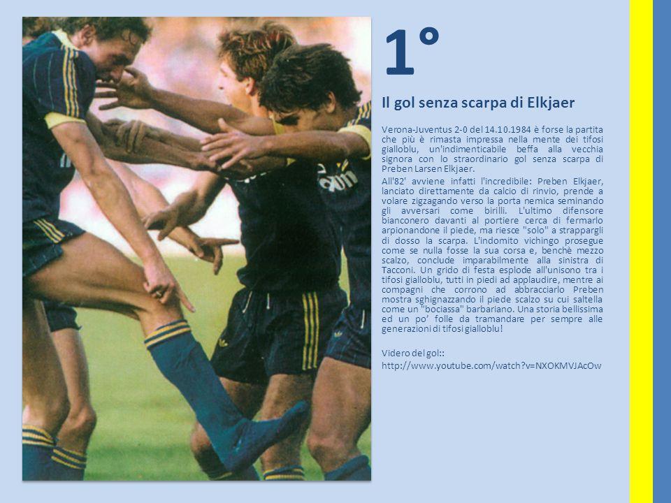 1° Il gol senza scarpa di Elkjaer