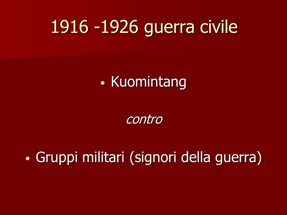 Gruppi militari (signori della guerra)