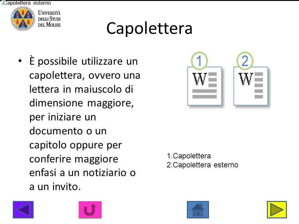 Capolettera Capolettera esterno. Capolettera. Capolettera esterno. Capolettera. Capolettera esterno.