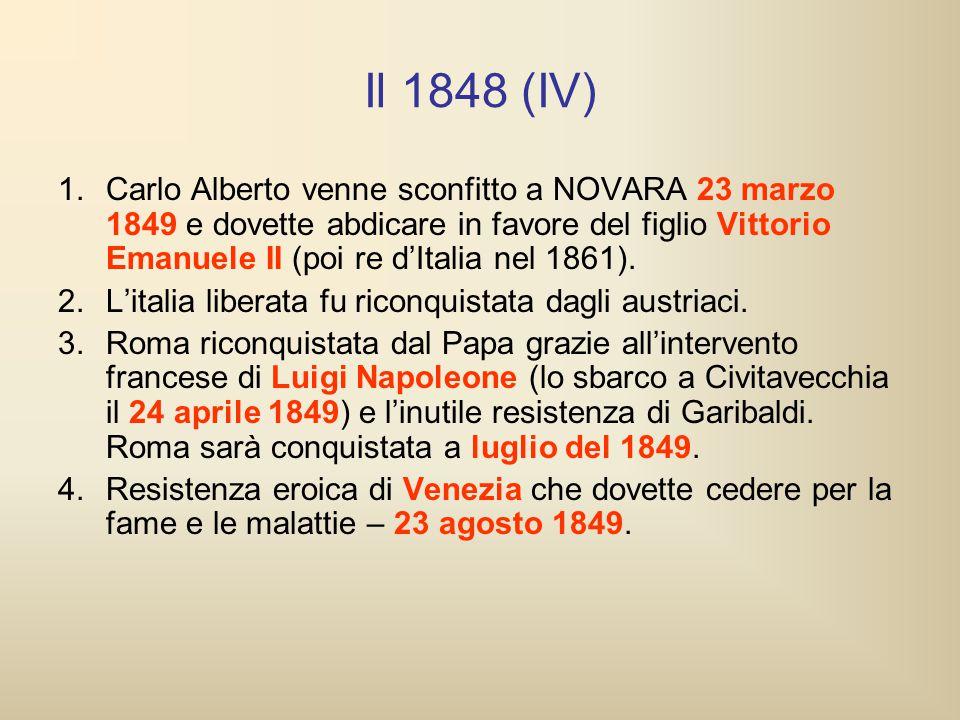 Il 1848 (IV)