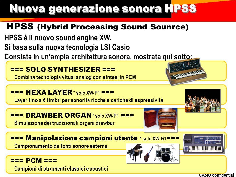 Nuova generazione sonora HPSS