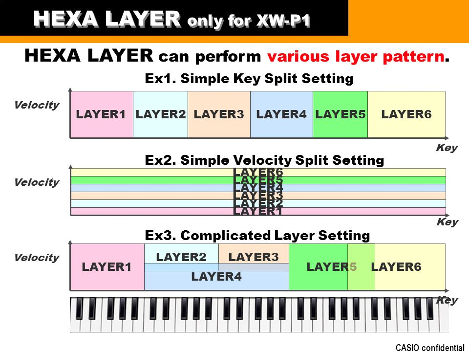 HEXA LAYER only for XW-P1
