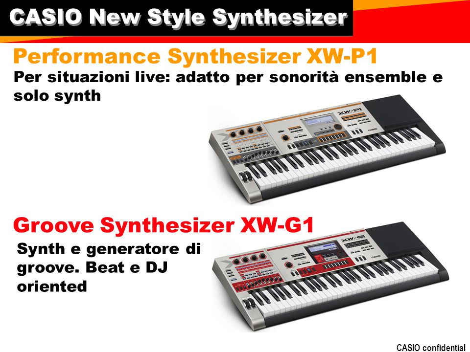 CASIO New Style Synthesizer