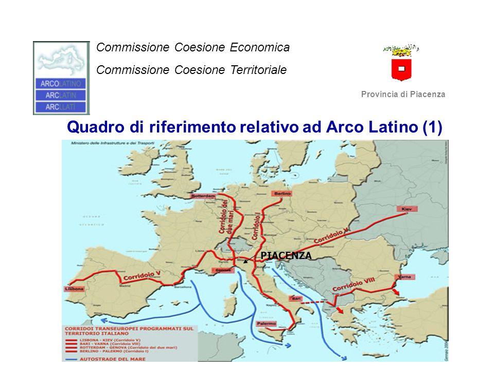 Quadro di riferimento relativo ad Arco Latino (1)