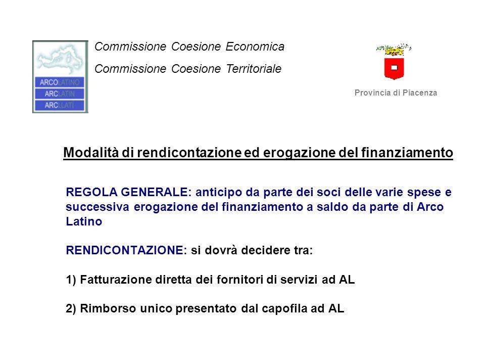 Commissione Coesione Economica