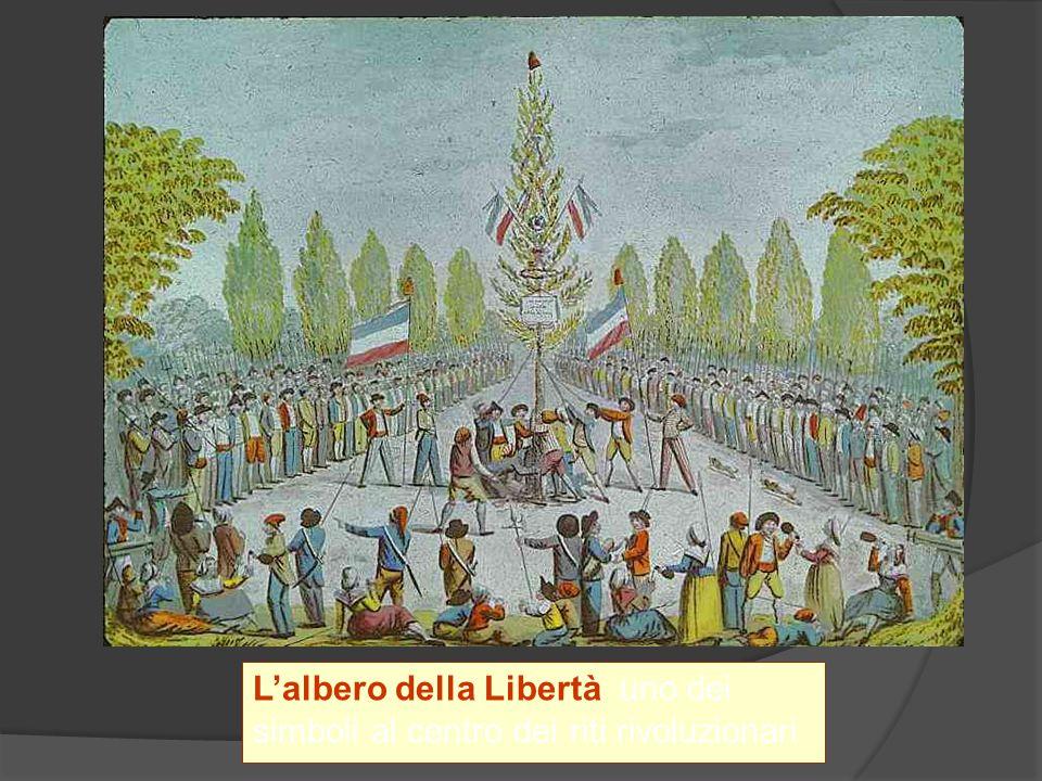 L'albero della Libertà uno dei simboli al centro dei riti rivoluzionari