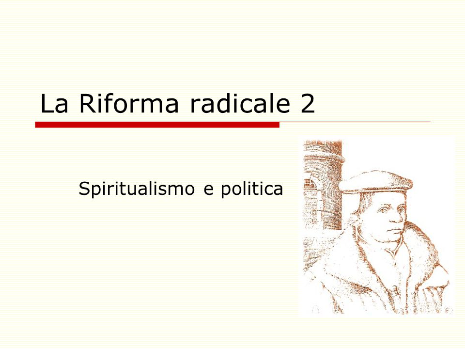 Spiritualismo e politica