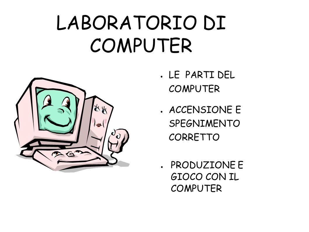 LABORATORIO DI COMPUTER