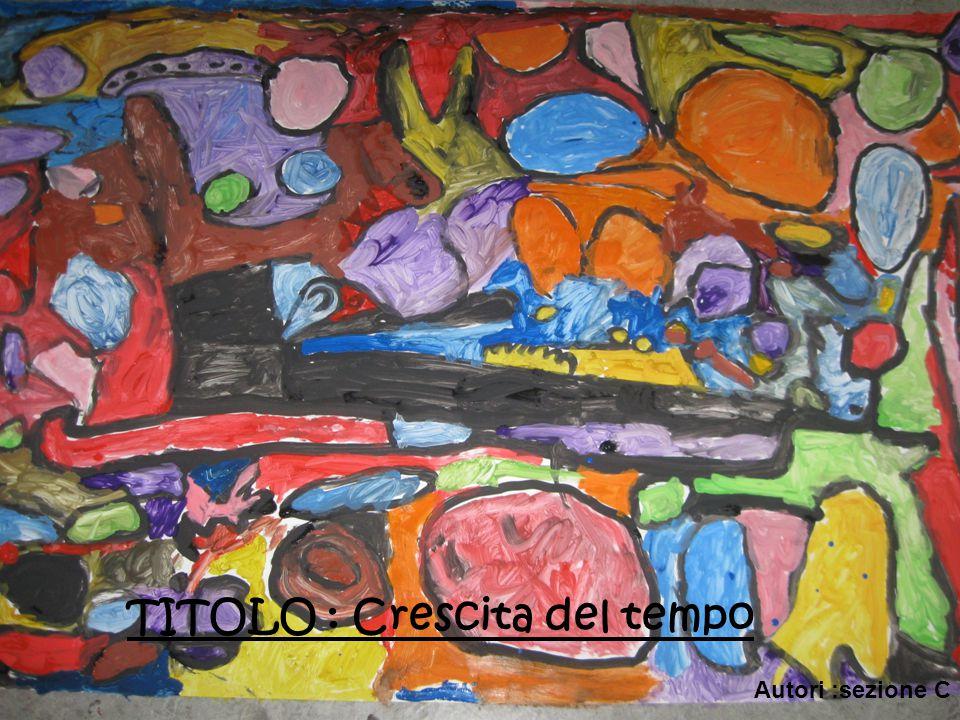 TITOLO : Crescita del tempo