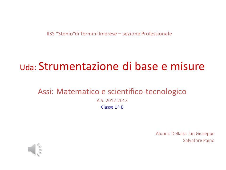 IISS Stenio di Termini Imerese – sezione Professionale