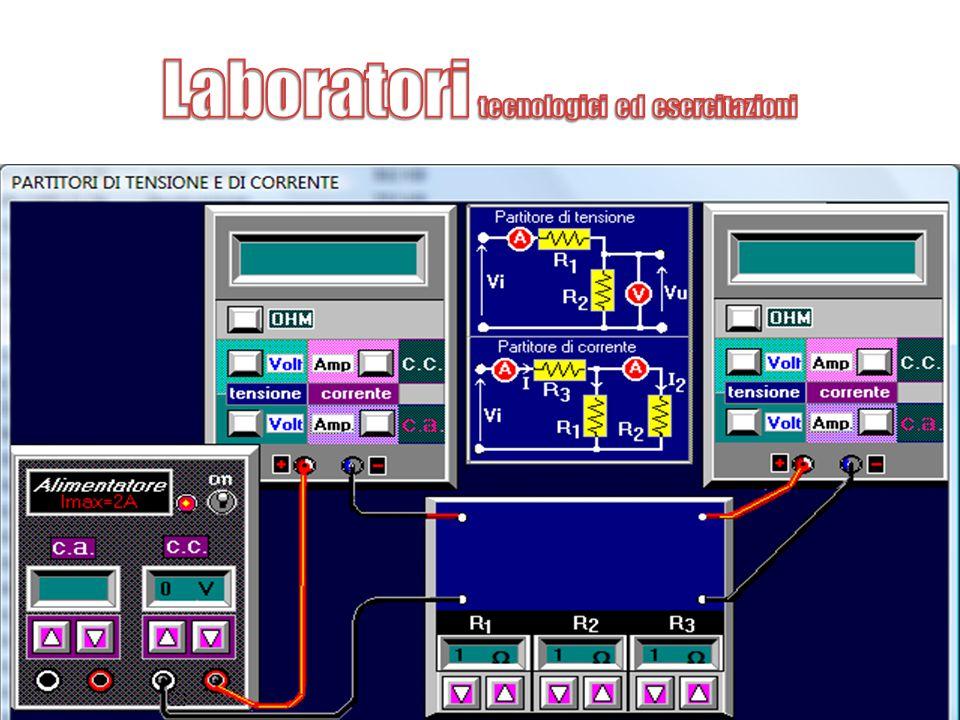 Laboratori tecnologici ed esercitazioni