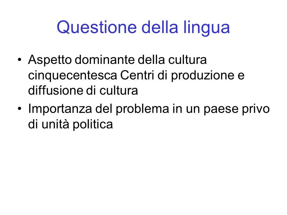 Questione della lingua