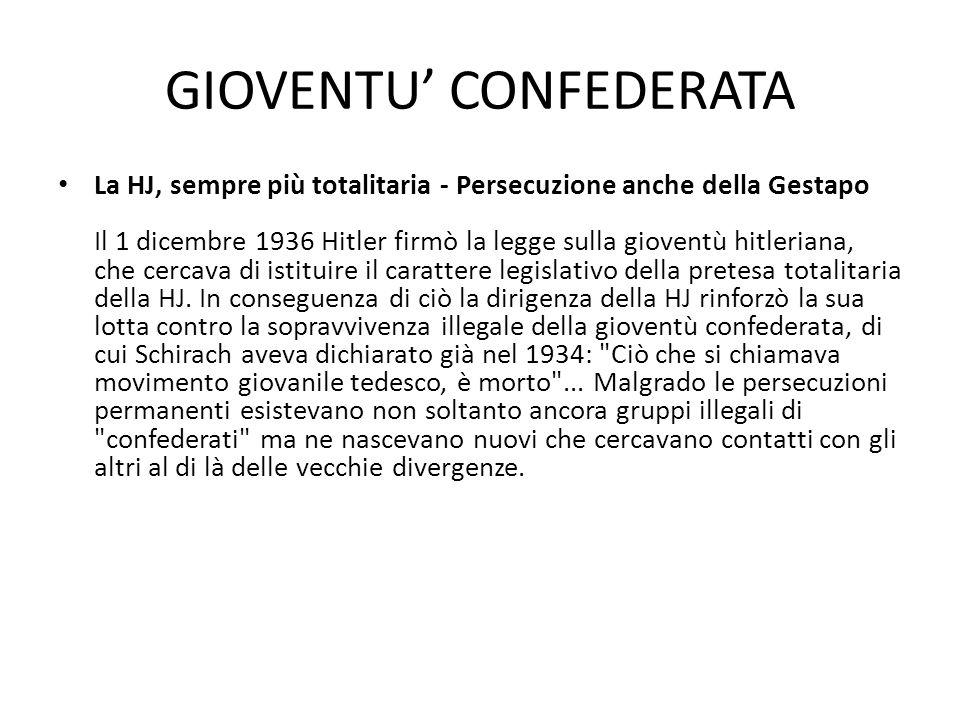 GIOVENTU' CONFEDERATA