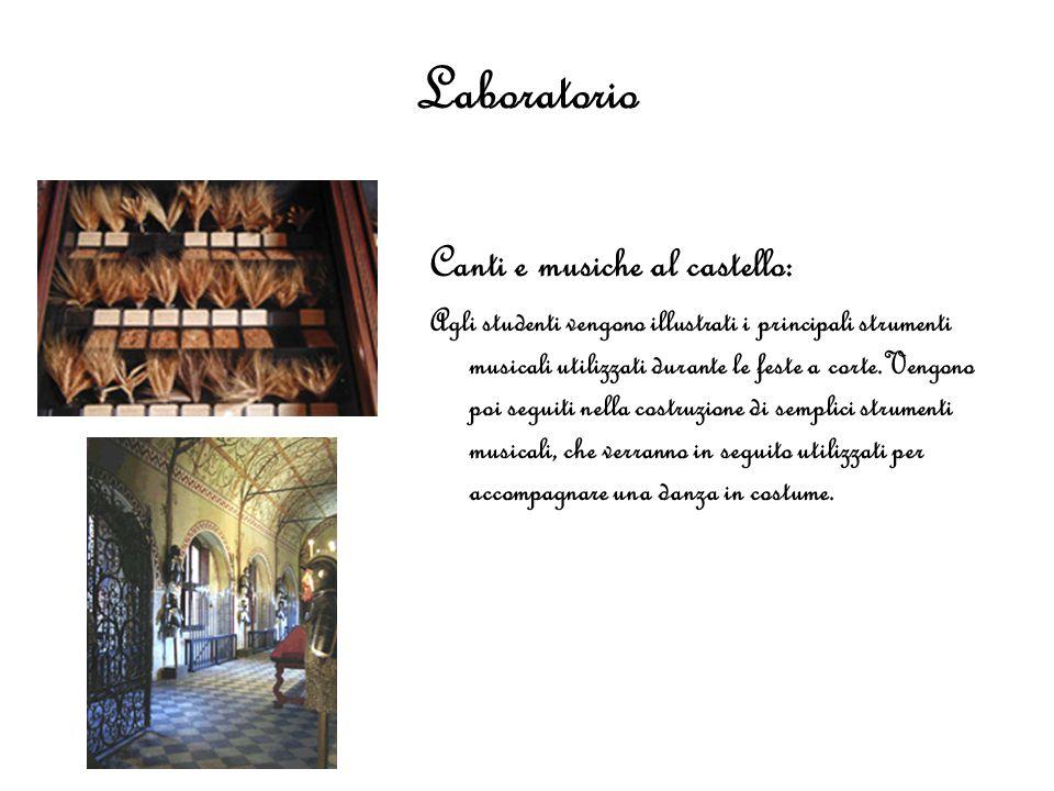 Laboratorio Canti e musiche al castello: