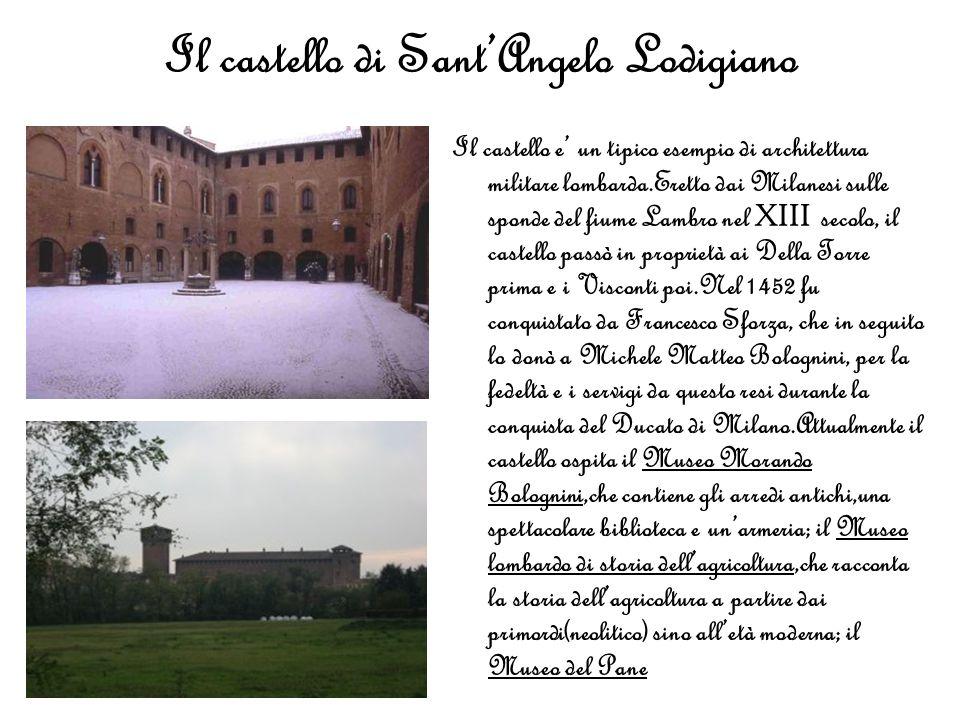 Il castello di Sant'Angelo Lodigiano