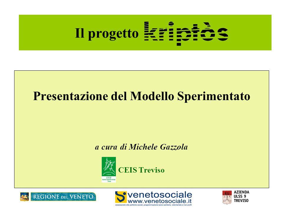 Presentazione del Modello Sperimentato a cura di Michele Gazzola