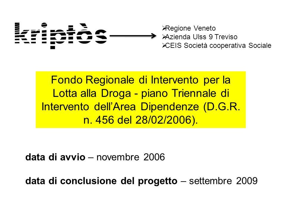 Regione Veneto Azienda Ulss 9 Treviso. CEIS Società cooperativa Sociale.