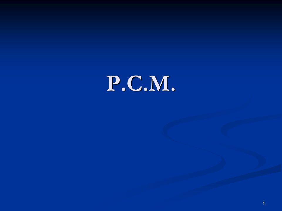 P.C.M.
