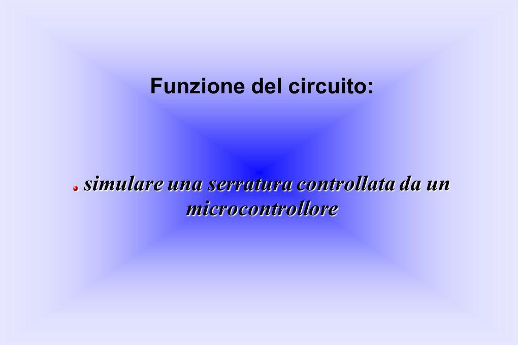 Funzione del circuito: