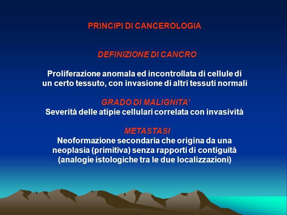 PRINCIPI DI CANCEROLOGIA