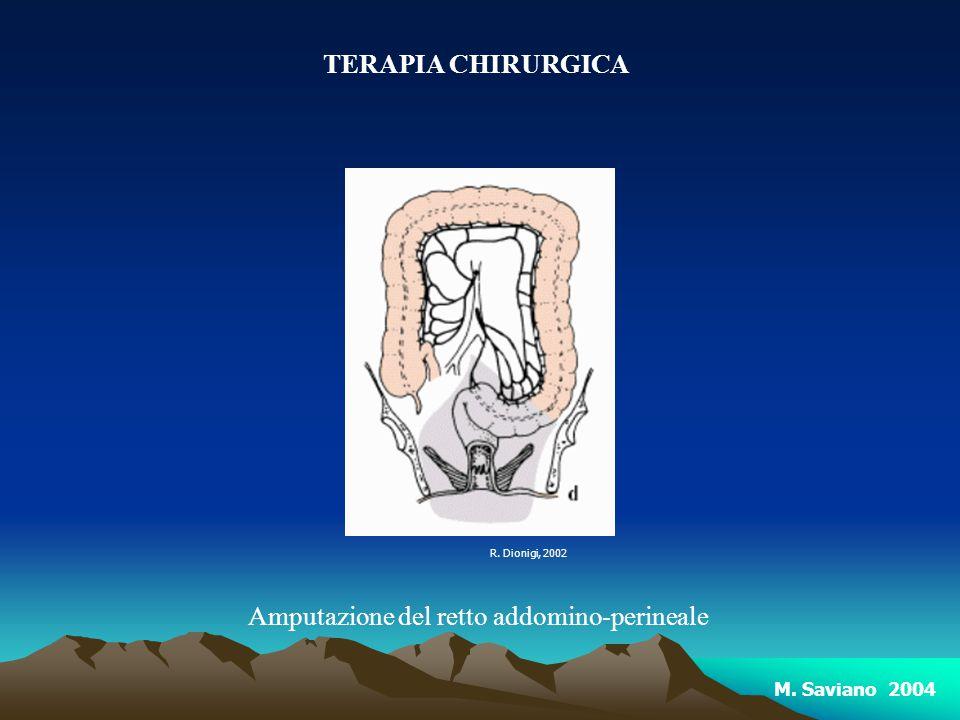 Amputazione del retto addomino-perineale