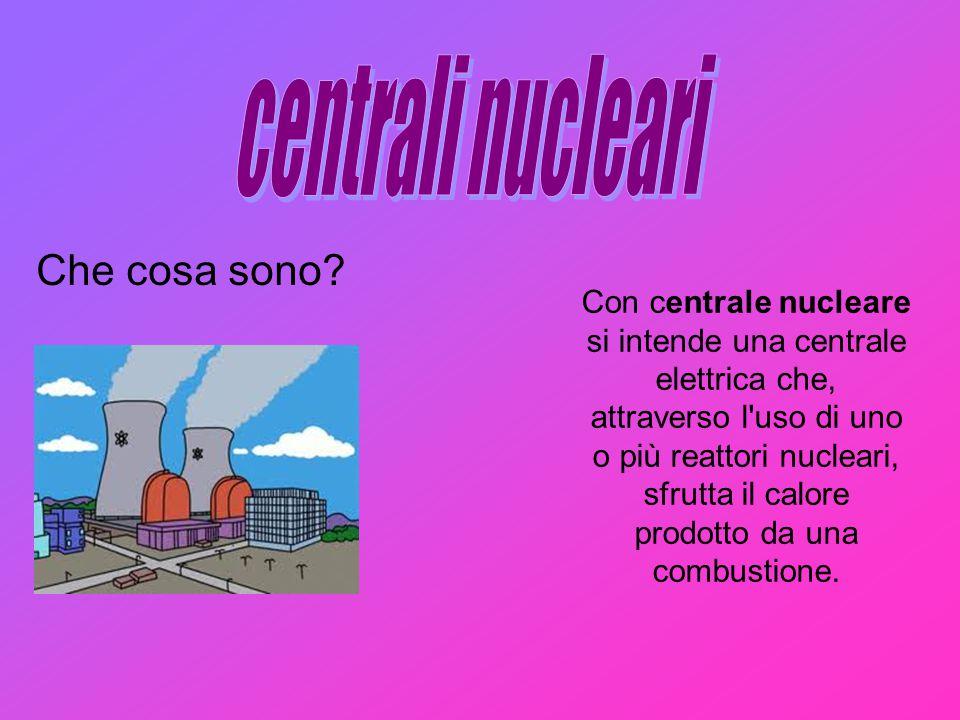 centrali nucleari Che cosa sono
