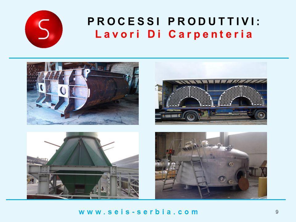 PROCESSI PRODUTTIVI: Lavori Di Carpenteria