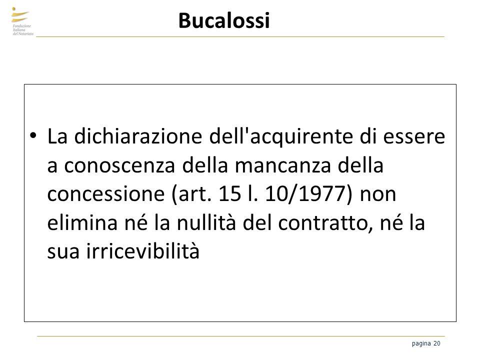 Bucalossi