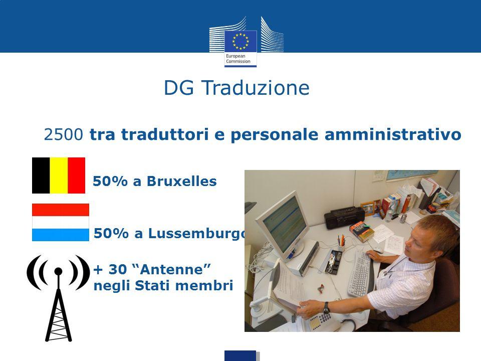 2500 tra traduttori e personale amministrativo