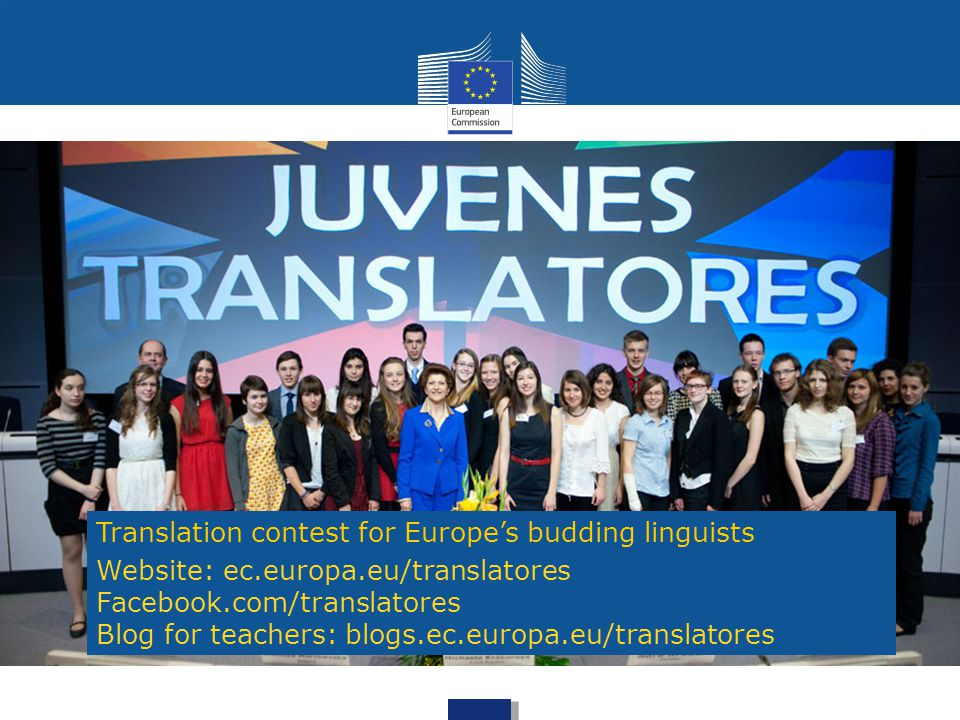 Translation contest for Europe's budding linguists