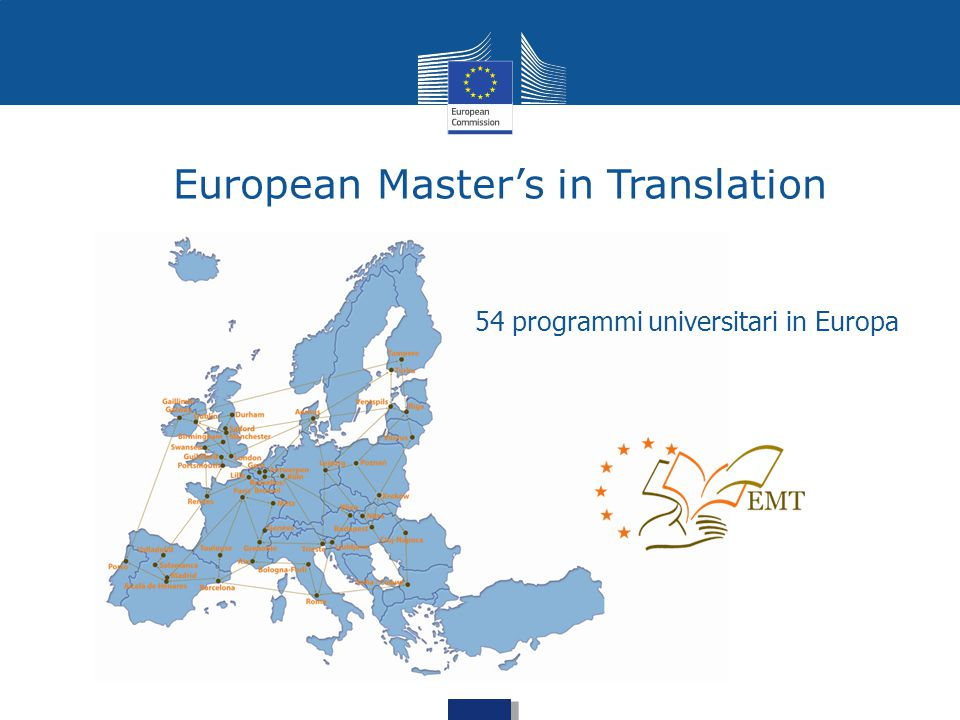 European Master's in Translation