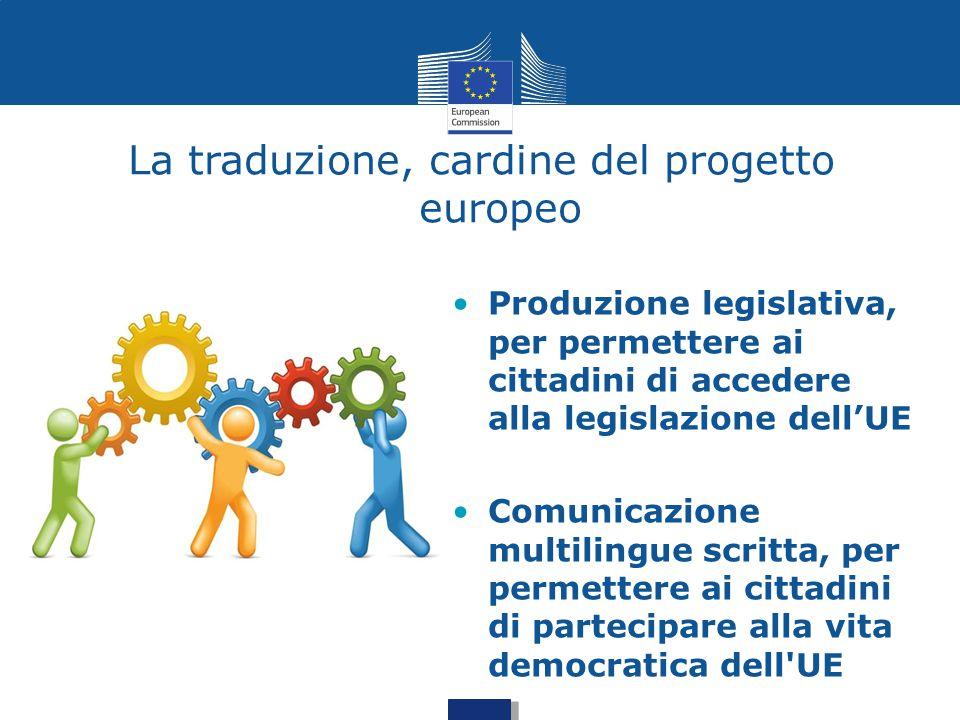 La traduzione, cardine del progetto europeo