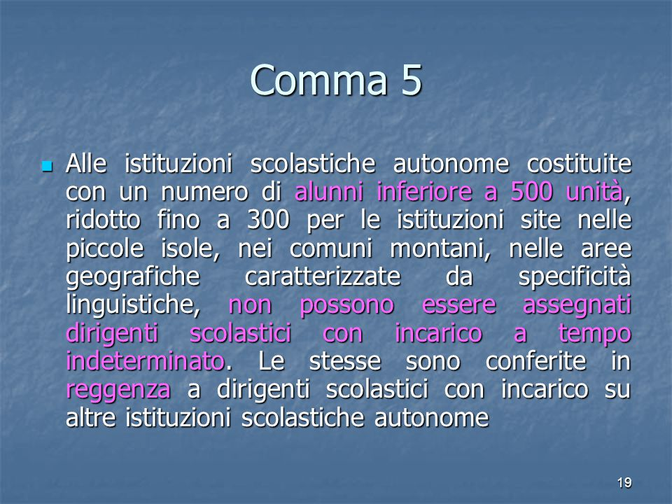 Comma 5