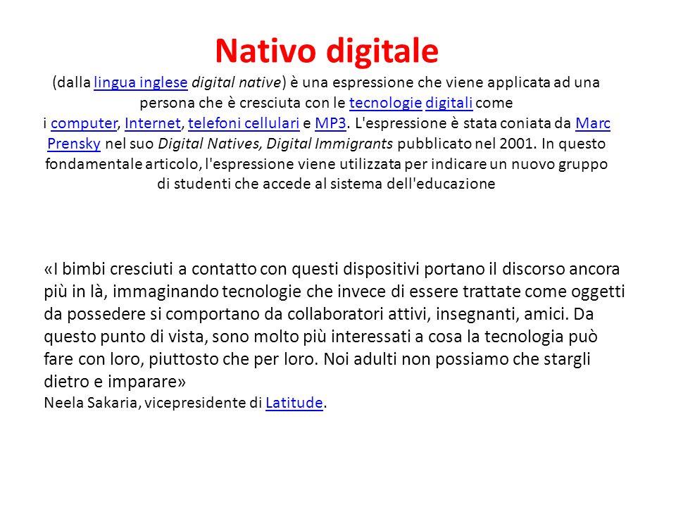 Nativo digitale