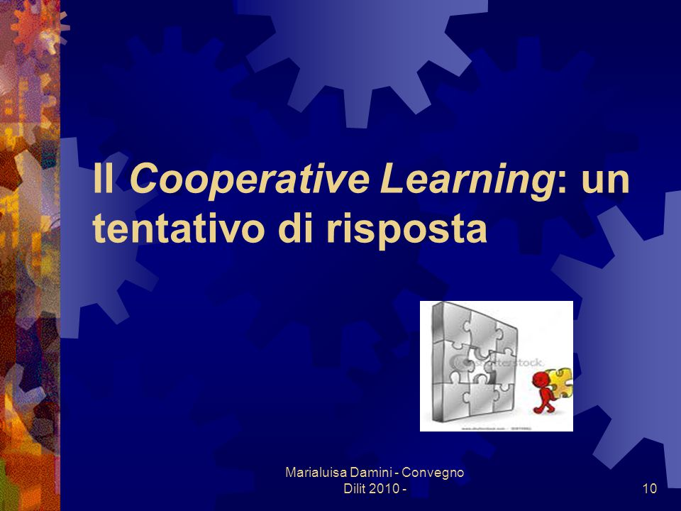 Il Cooperative Learning: un tentativo di risposta