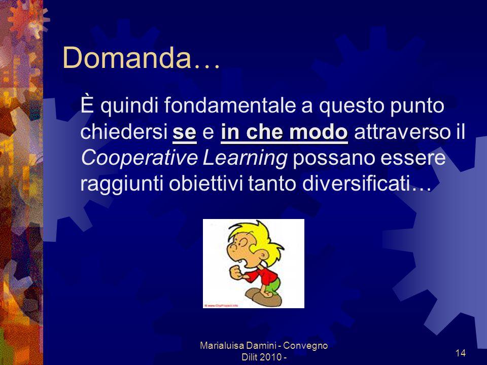 Marialuisa Damini - Convegno Dilit 2010 -