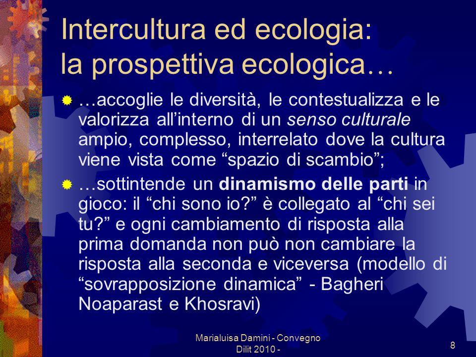 Intercultura ed ecologia: la prospettiva ecologica…