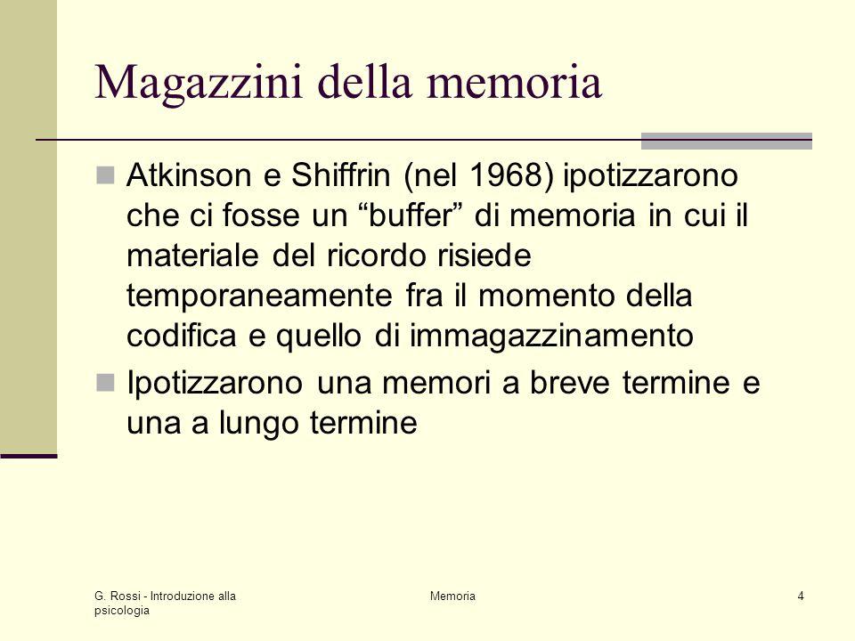 Magazzini della memoria