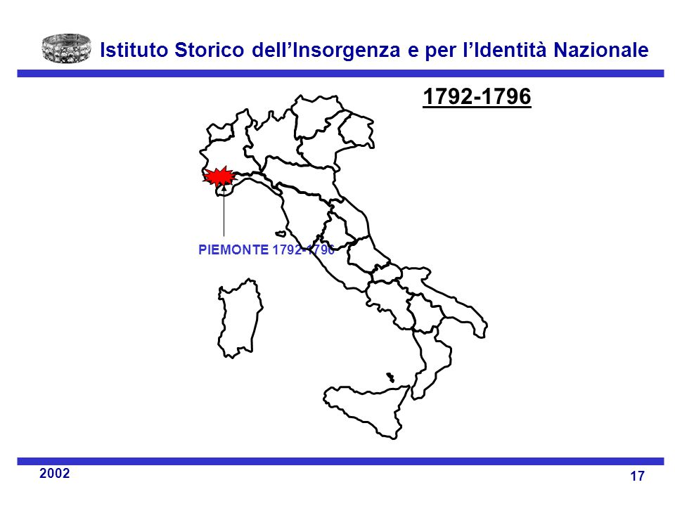 PIEMONTE 1792-1796 1792-1796