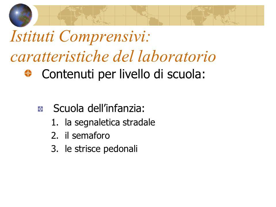Istituti Comprensivi: caratteristiche del laboratorio