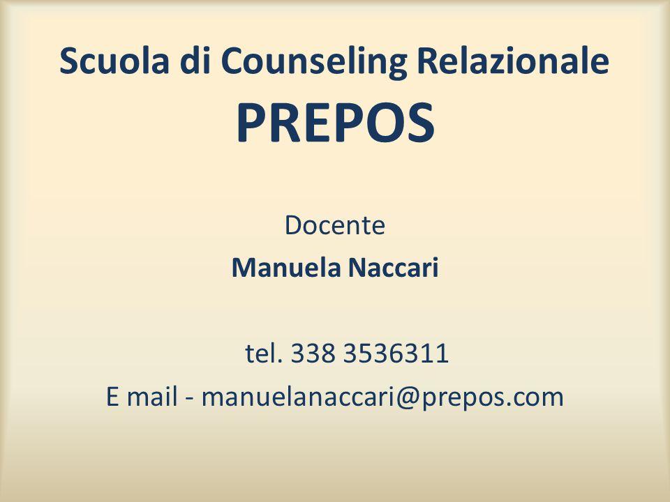 Scuola di Counseling Relazionale PREPOS