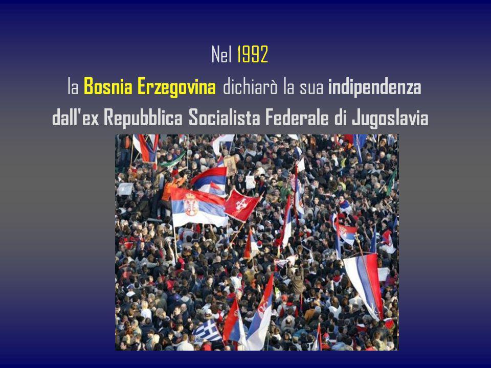 dall ex Repubblica Socialista Federale di Jugoslavia