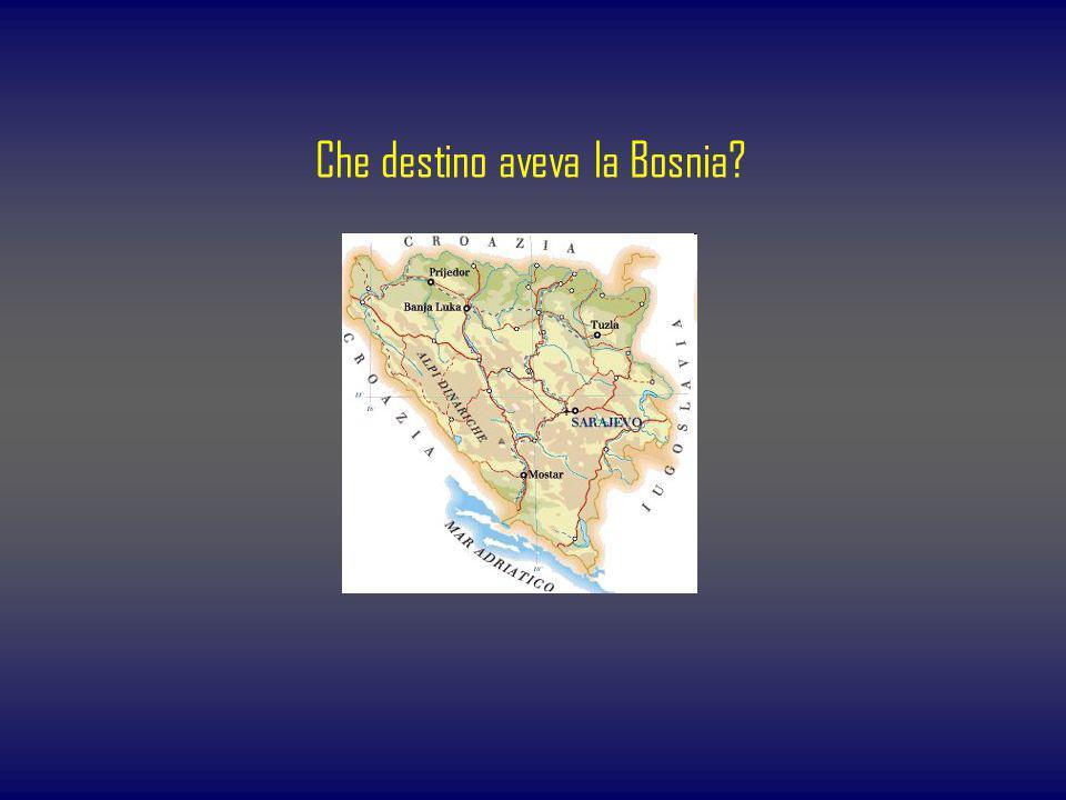 Che destino aveva la Bosnia