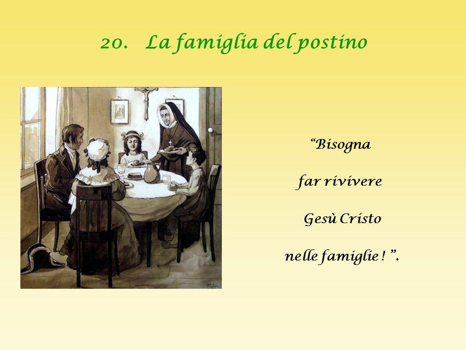 20. La famiglia del postino