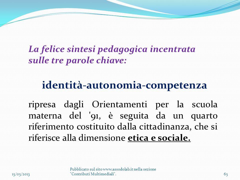 identità-autonomia-competenza